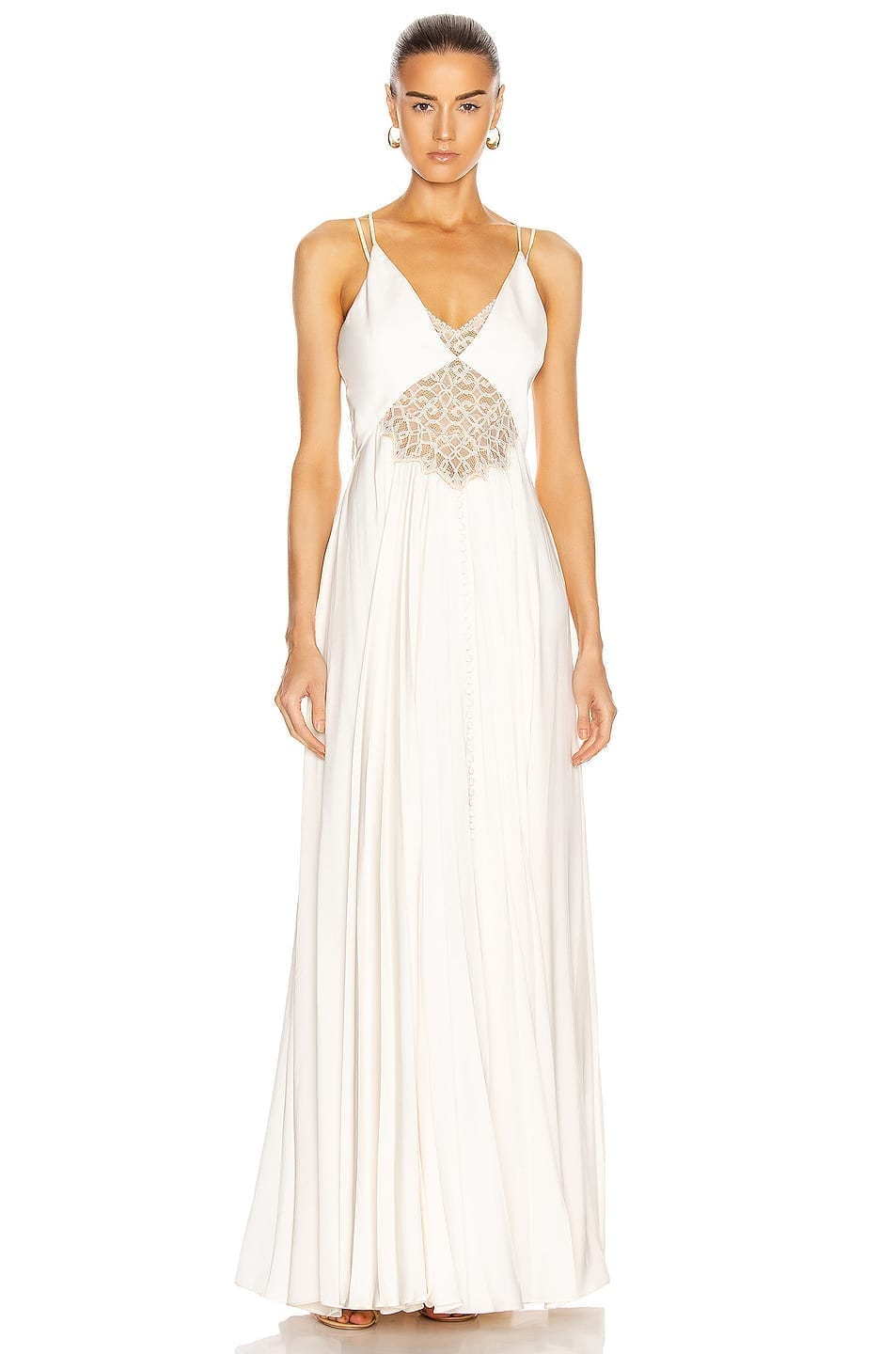JONATHAN SIMKHAI Kolbi Charmeuse Dress