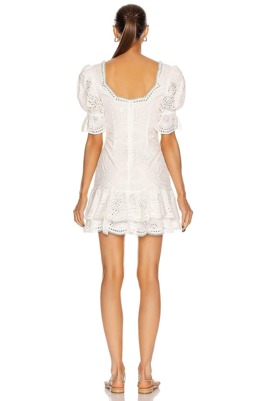 JONATHAN SIMKHAI Meg Puff Sleeve Mini Dress