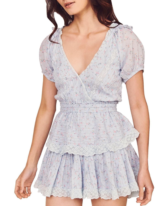 LOVESHACKFANCY Carlo Mini Dress