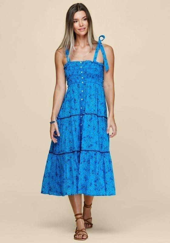 POUPETTE ST BARTH Trini Midi Dress