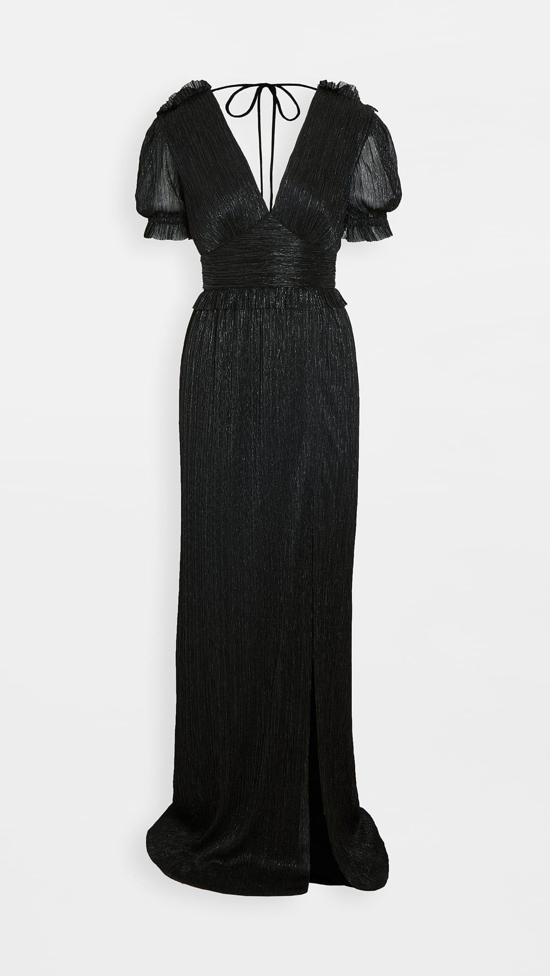 REBECCA VALLANCE Luna Short Sleeve Gown
