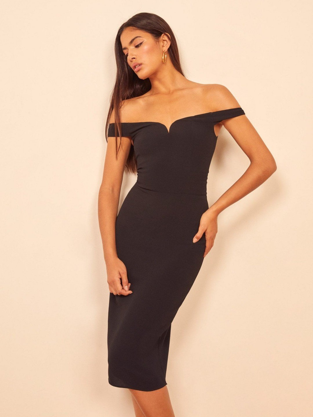 These Off The Shoulder Bodycon Dresses Will Win Your Heart Over