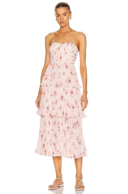 SELF-PORTRAIT Chiffon Dress
