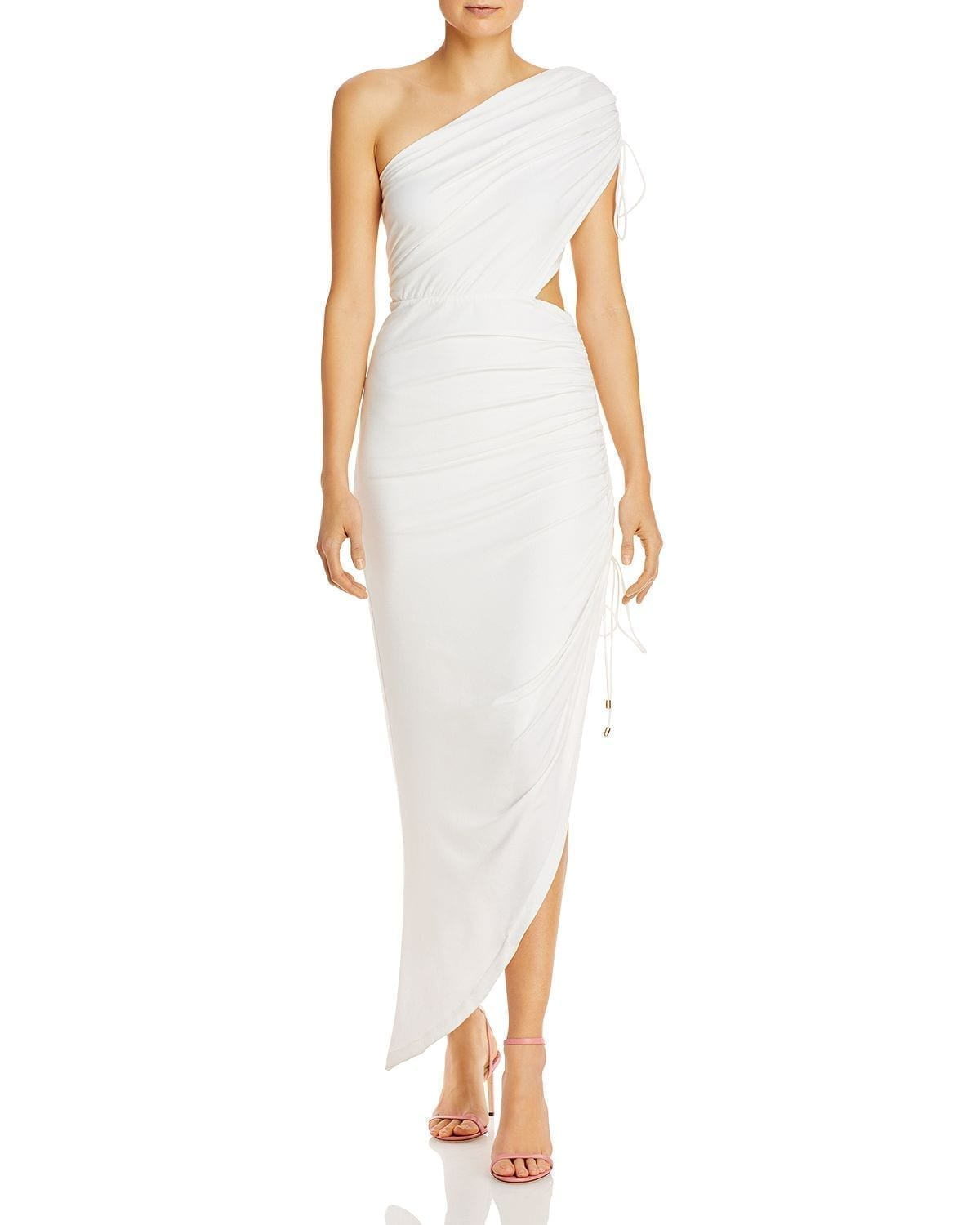 SIGNIFICANT OTHER Sirene Draped Side-Cutout Dress