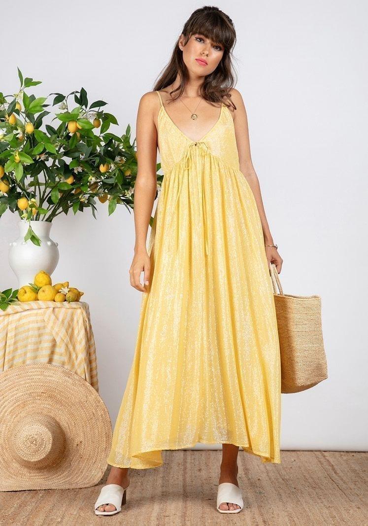 SUNDRESS Alba Long Dress