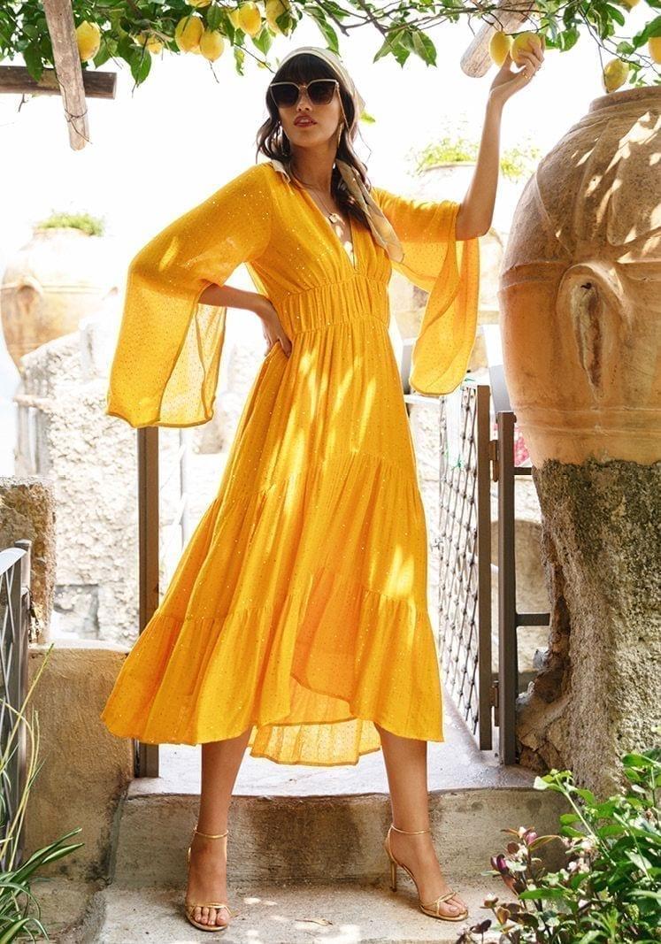 SUNDRESS Claudia Long Dress