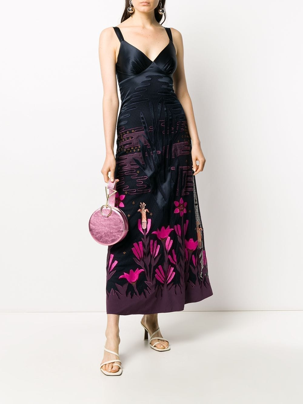 TEMPERLEY LONDON Florette Strappy Dress