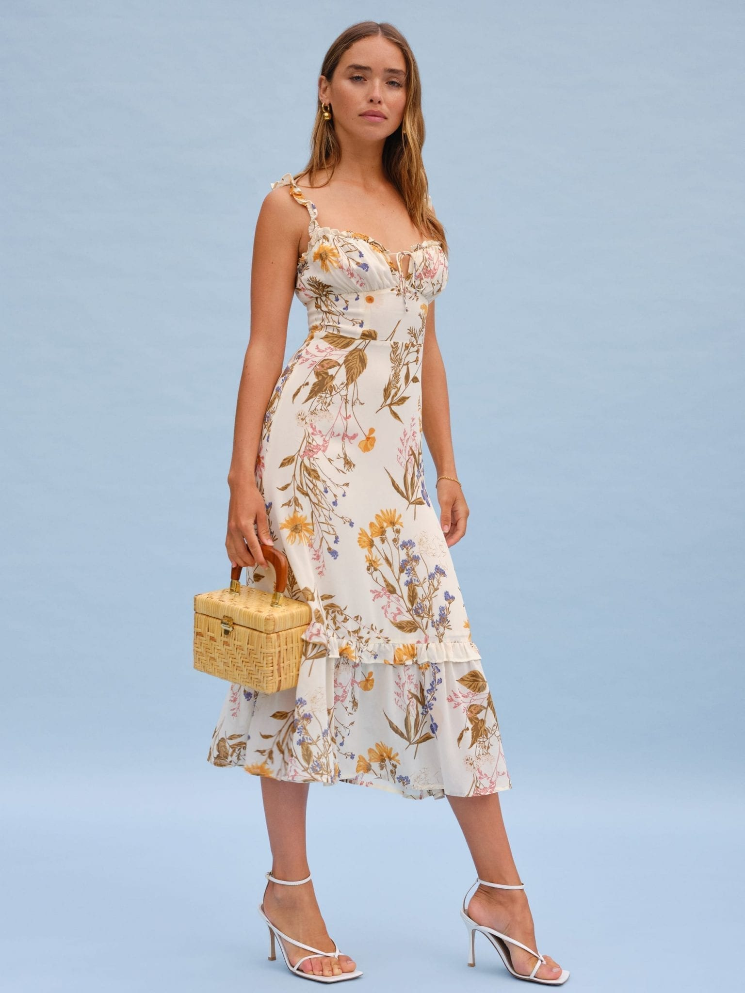 THEREFORMATION Greenfield Dress