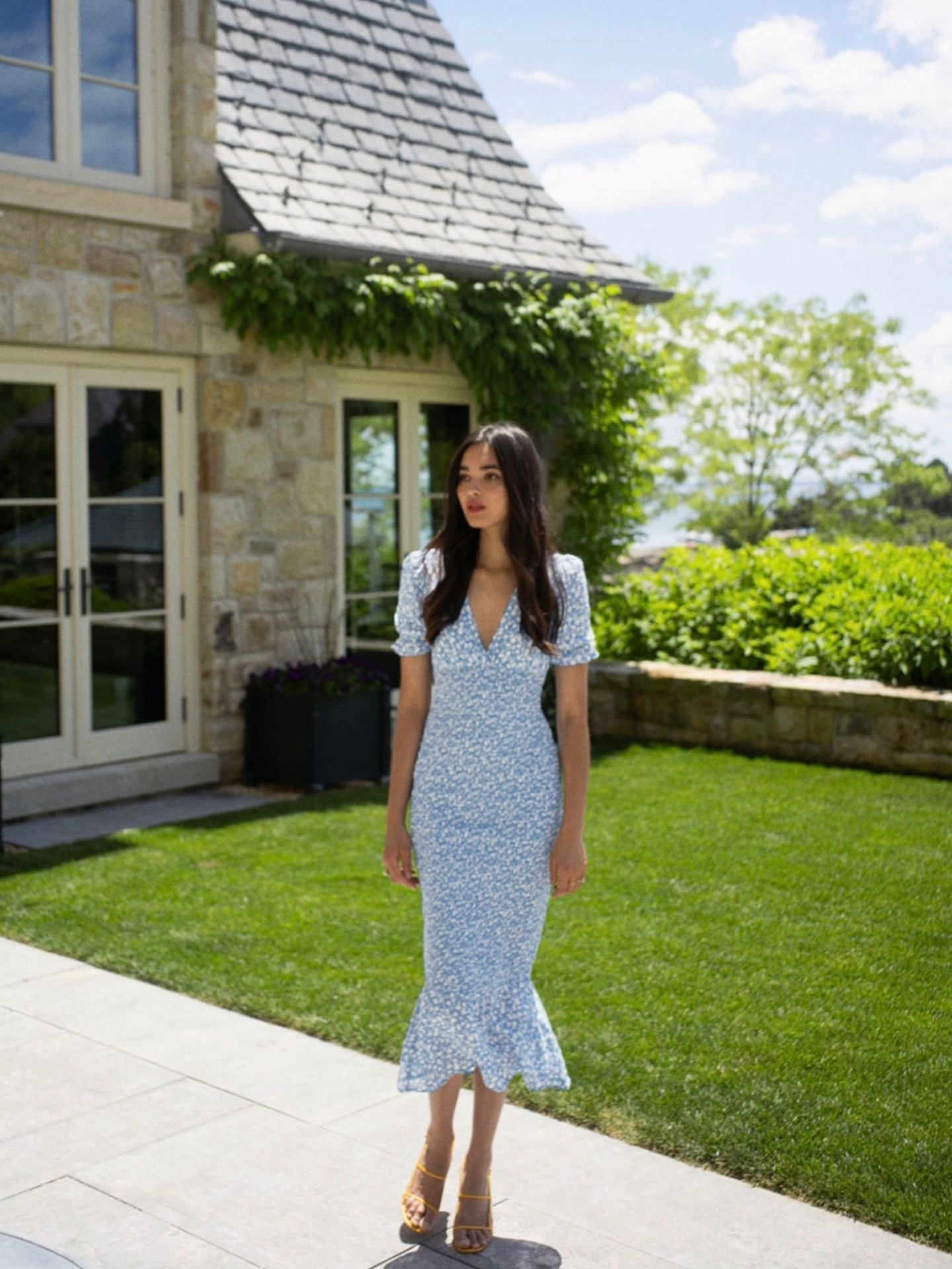 THEREFORMATION Landrie Dress