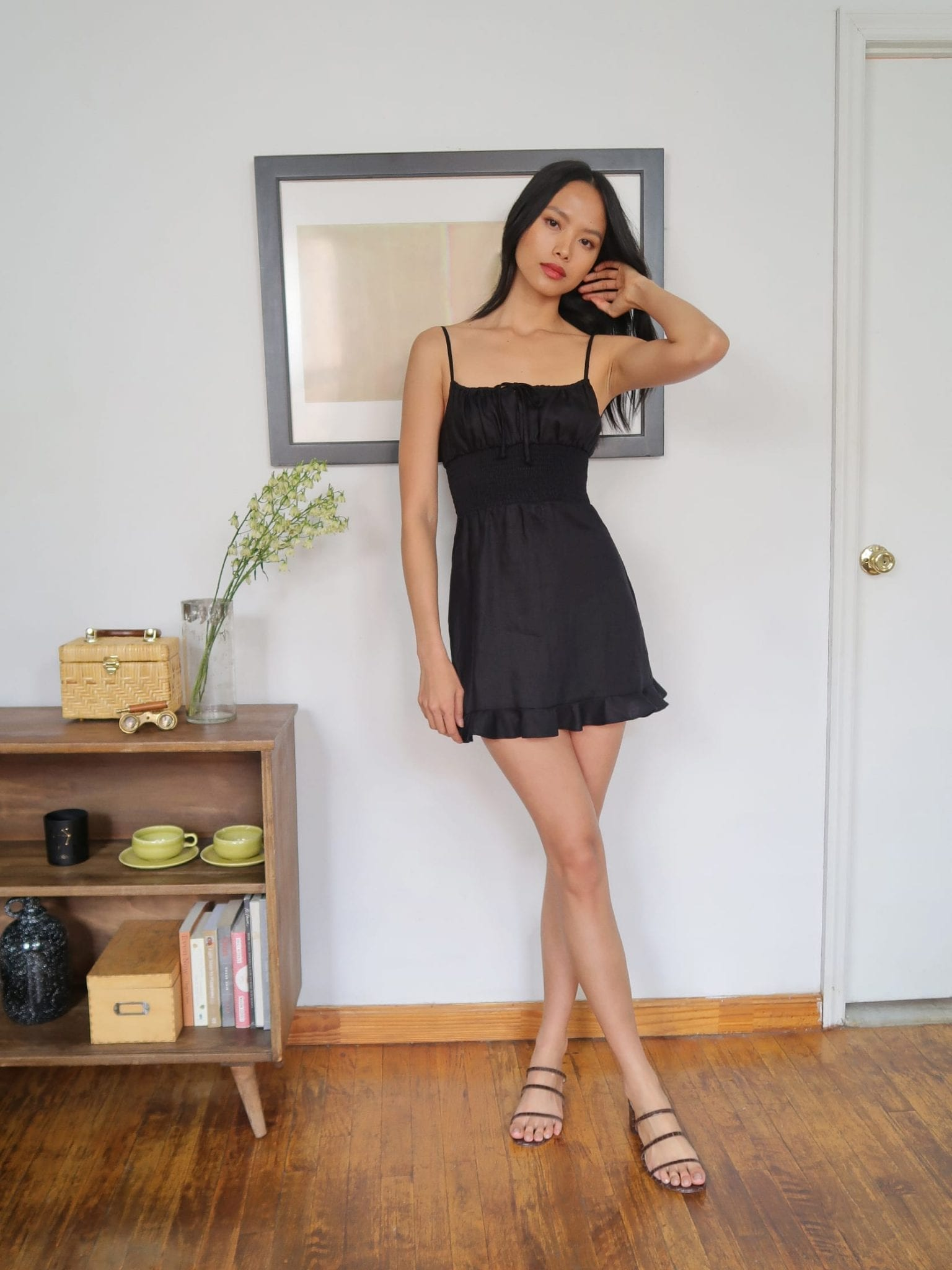 THEREFORMATION Rosemary Dress