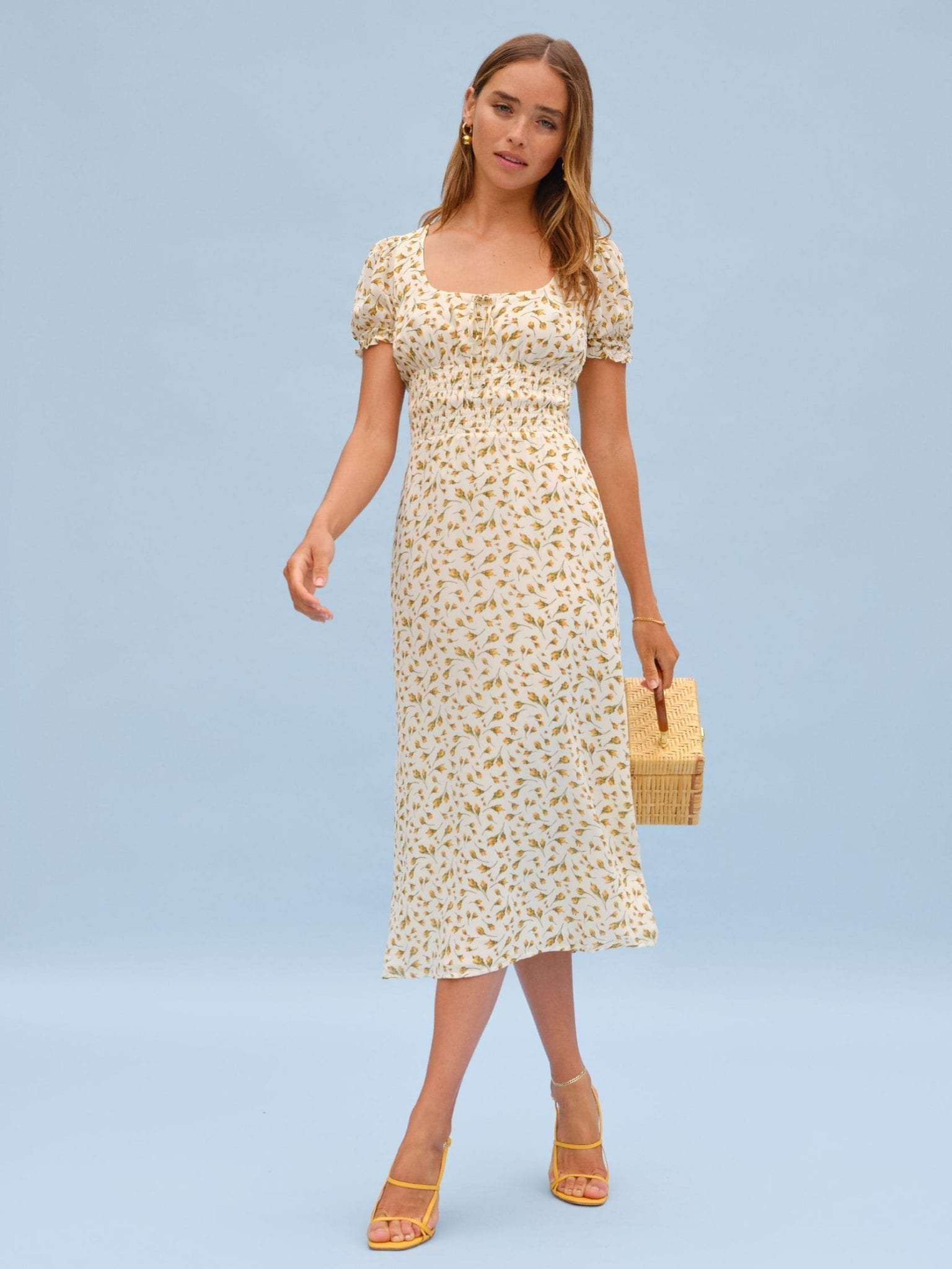 THEREFORMATION Selby Dress