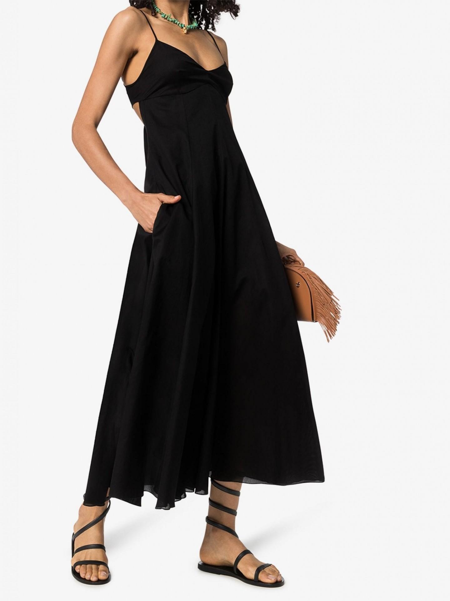 THREE GRACES Bonita Bow Back Midi Dress