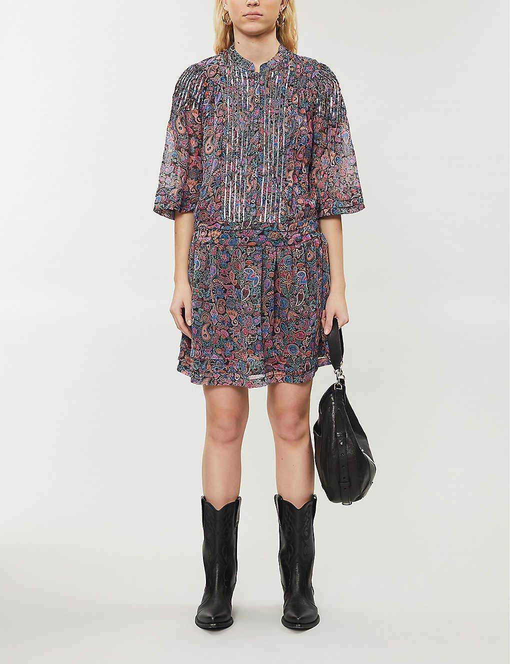ZADIG&VOLTAIRE Rimo Paisley-print Woven Midi Dress