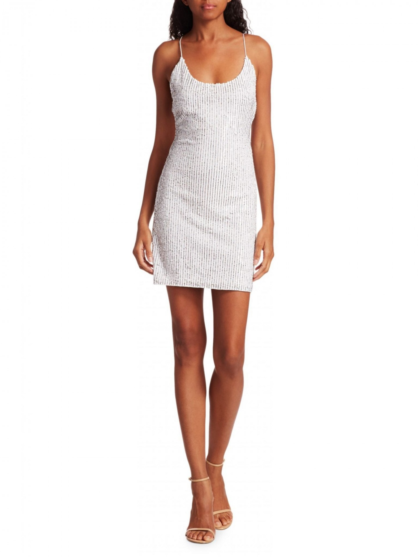 ALICE + OLIVIA Nelle Sequin Mini Dress