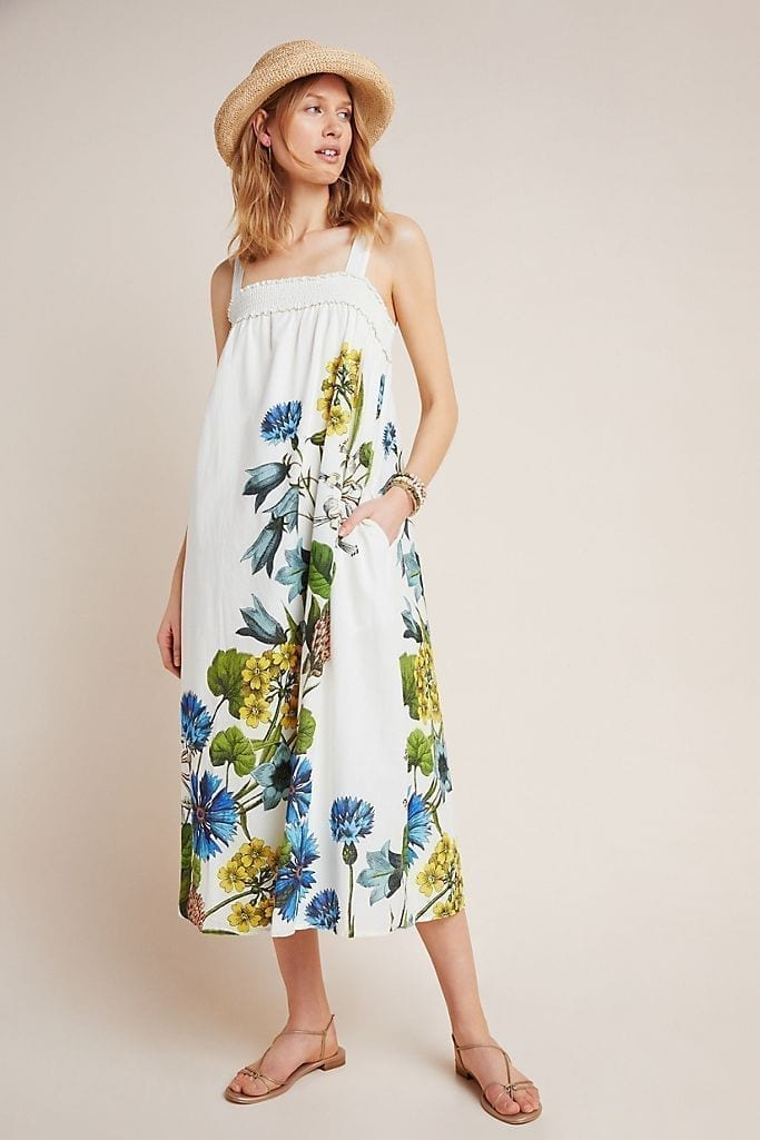 ANTHROPOLOGIE Beaujardin Maxi Dress