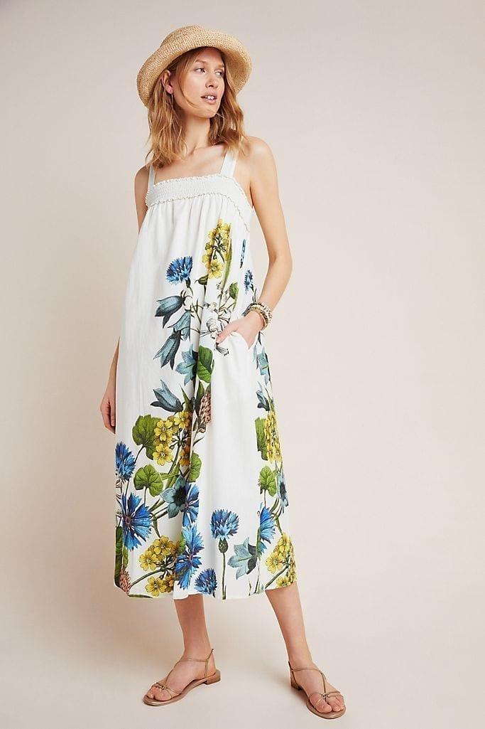 ANTHROPOLOGIE Beaujardin Maxi Dress
