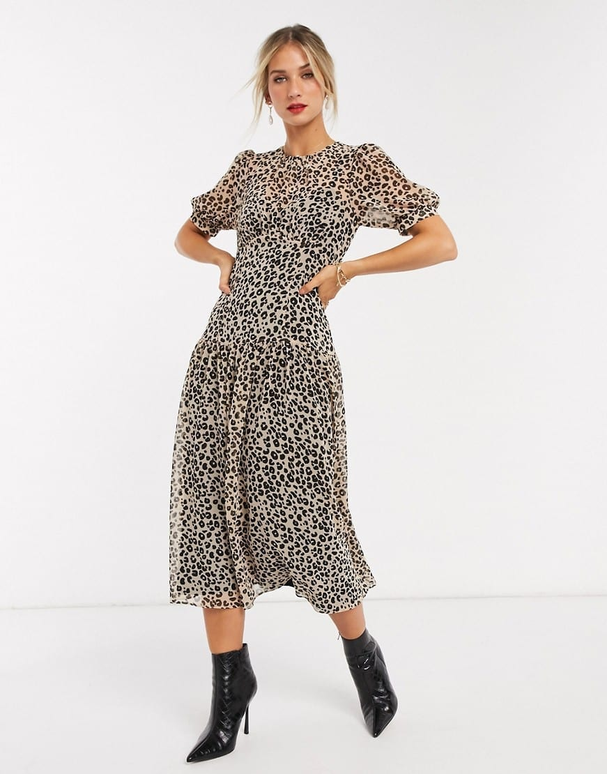 ASOS DESIGN Midi Tea Dress