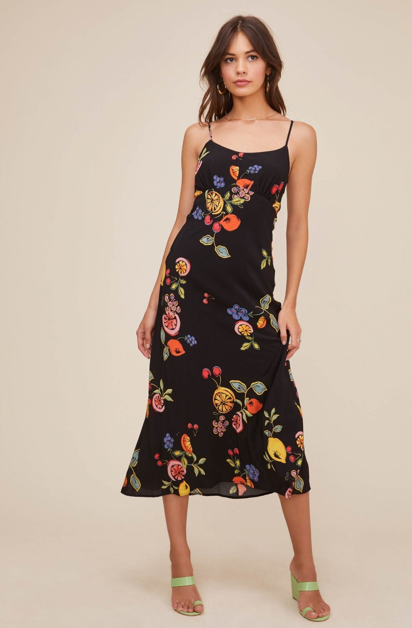 ASTRTHELABEL Charisma Fruit Midi Dress