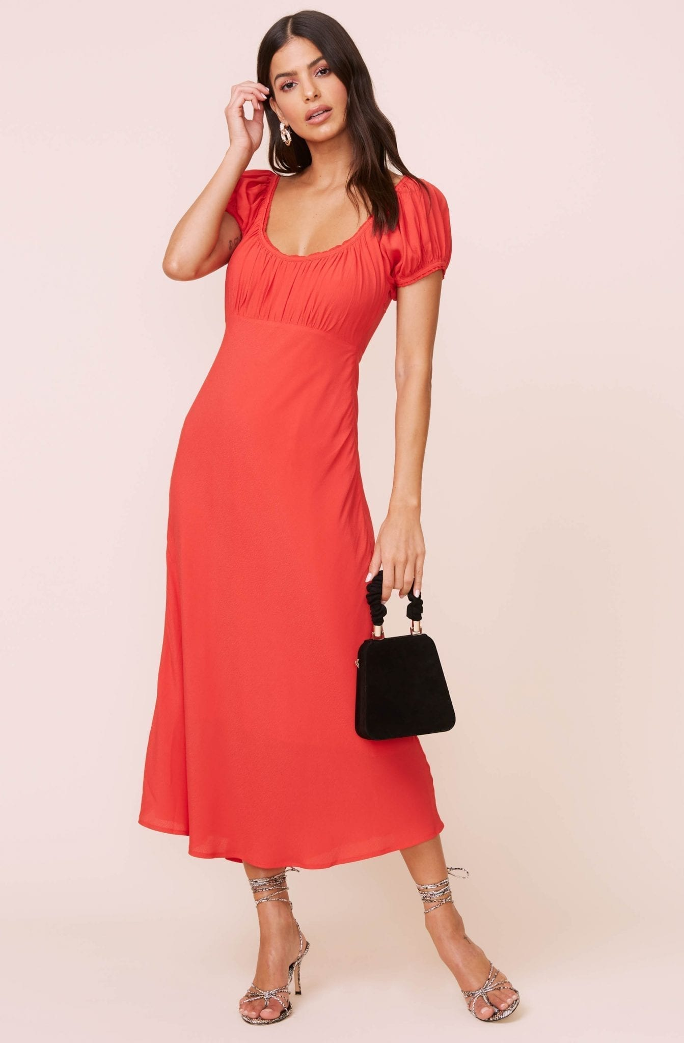 ASTRTHELABEL Donna Midi Dress