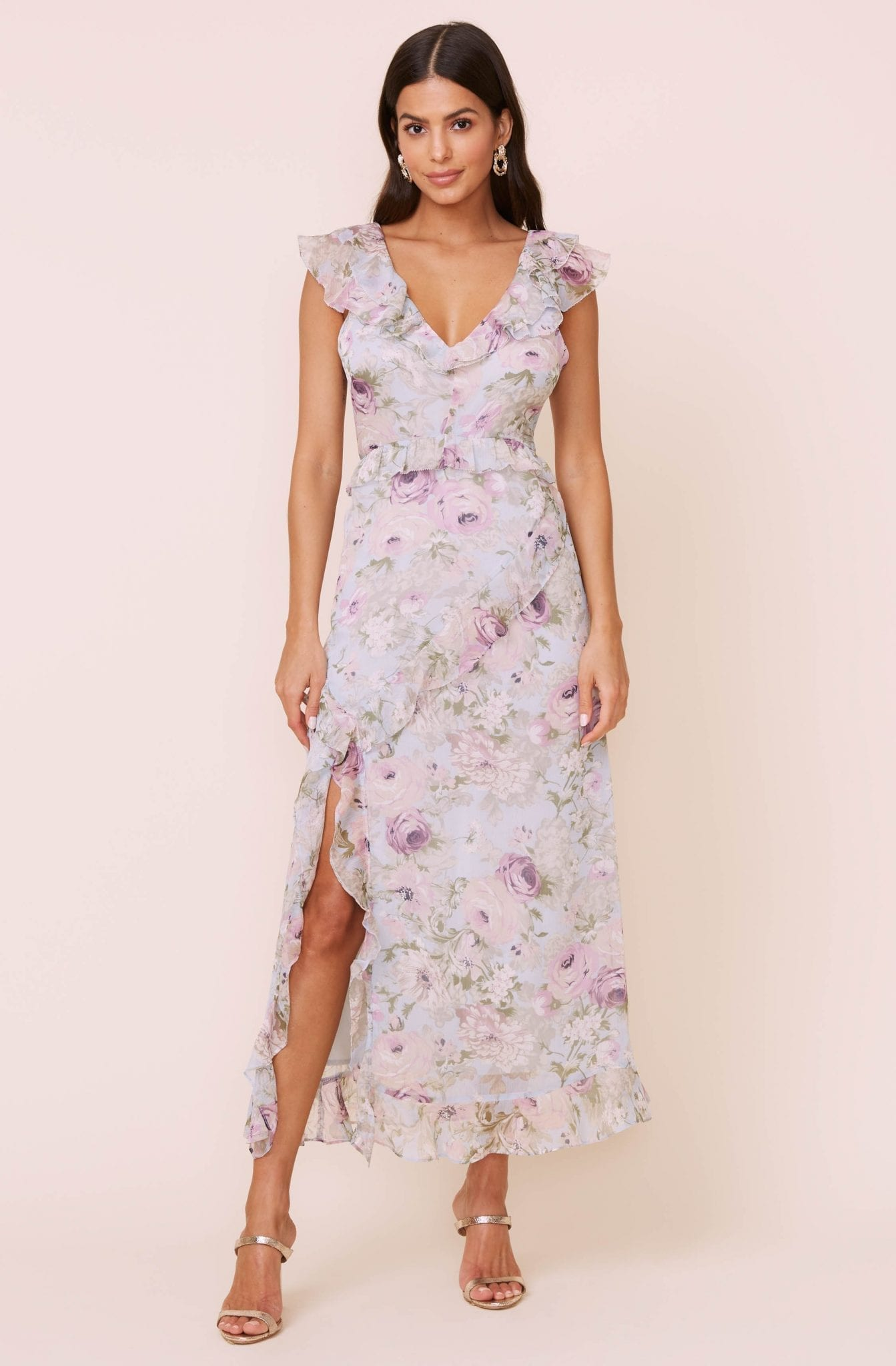 ASTRTHELABEL Tempest Floral Maxi Dress