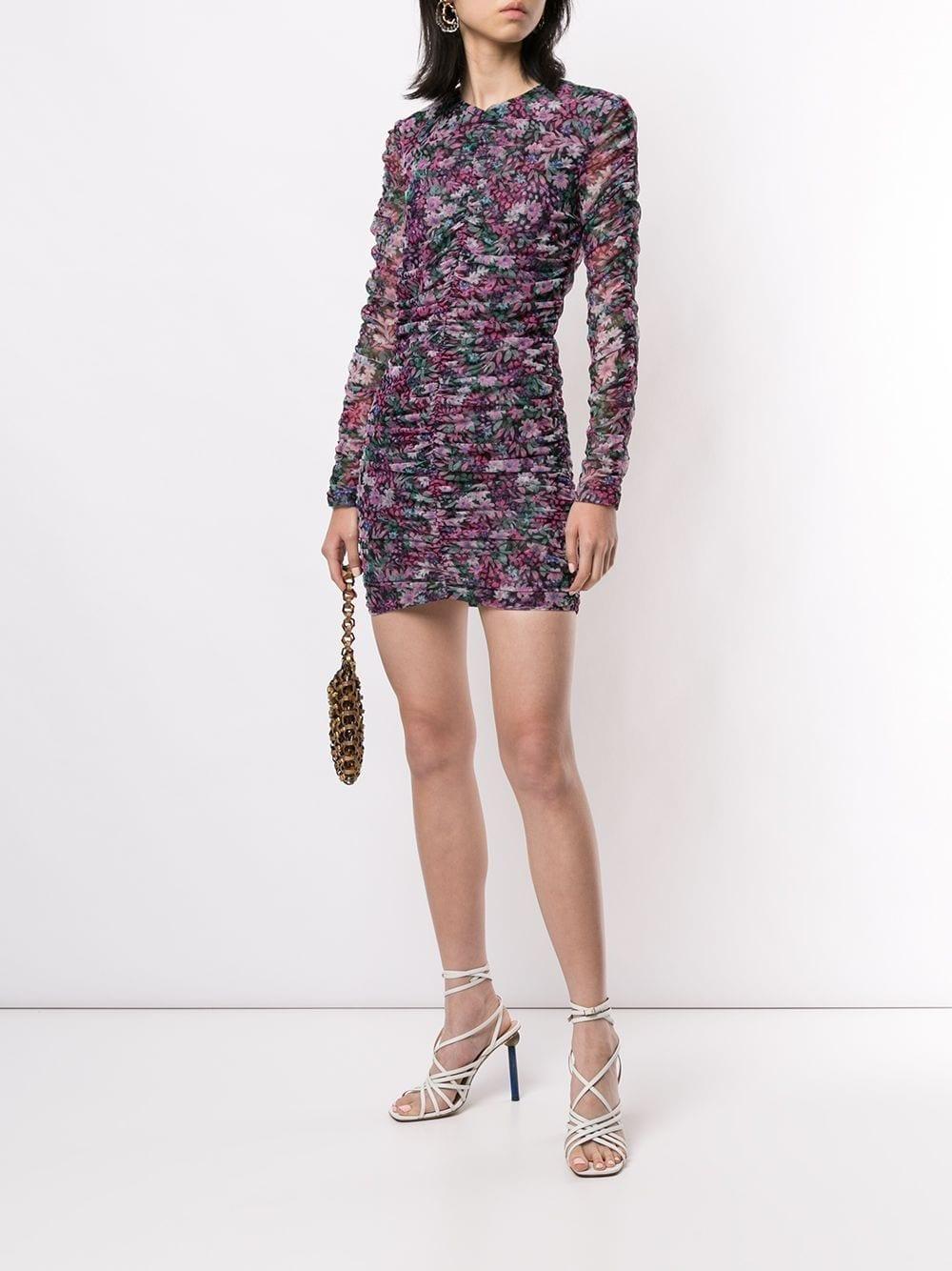 BEC + BRIDGE Anais Mesh Mini Dress