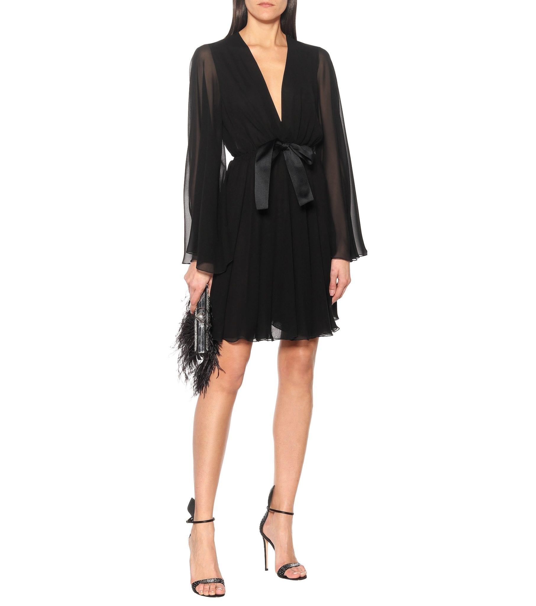 GIAMBATTISTA VALLI Silk-georgette Mini Dress