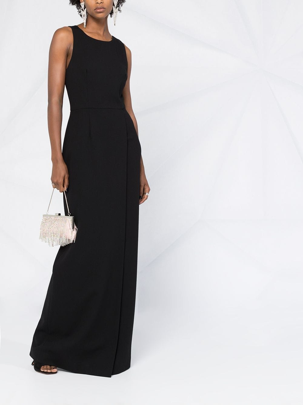 GIVENCHY Slit Detail Maxi Dress
