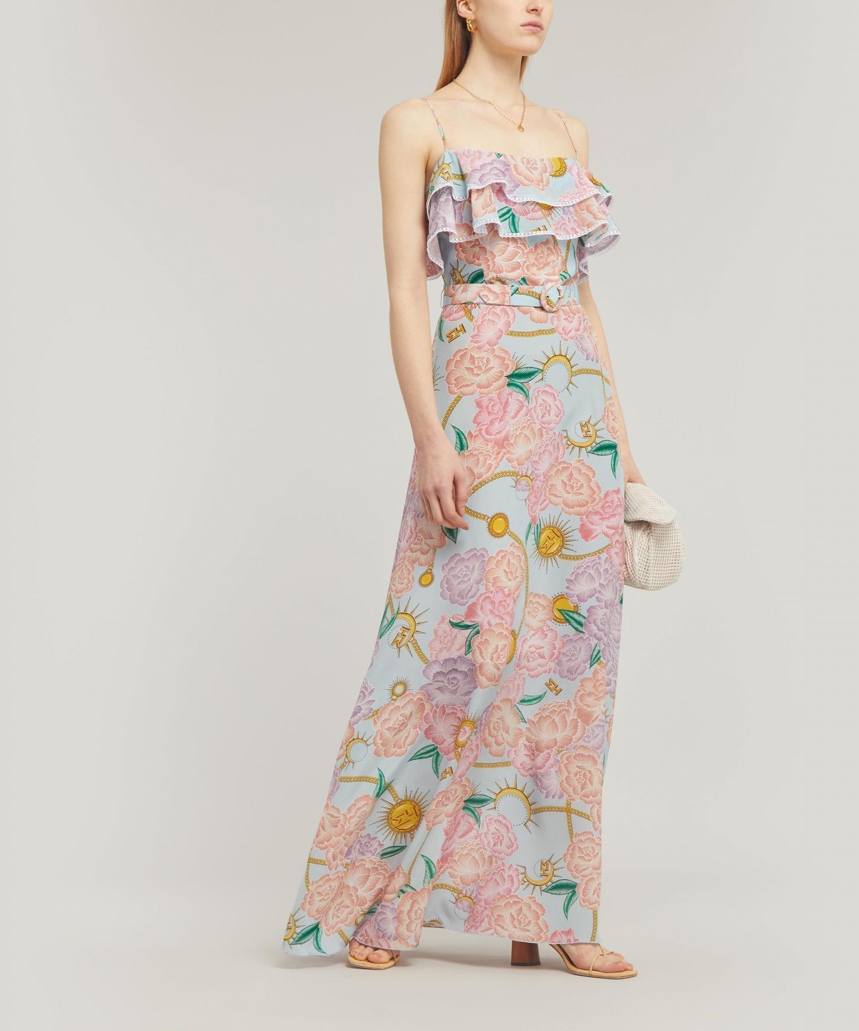HAYLEY MENZIES Luna Floral Maxi-Dress