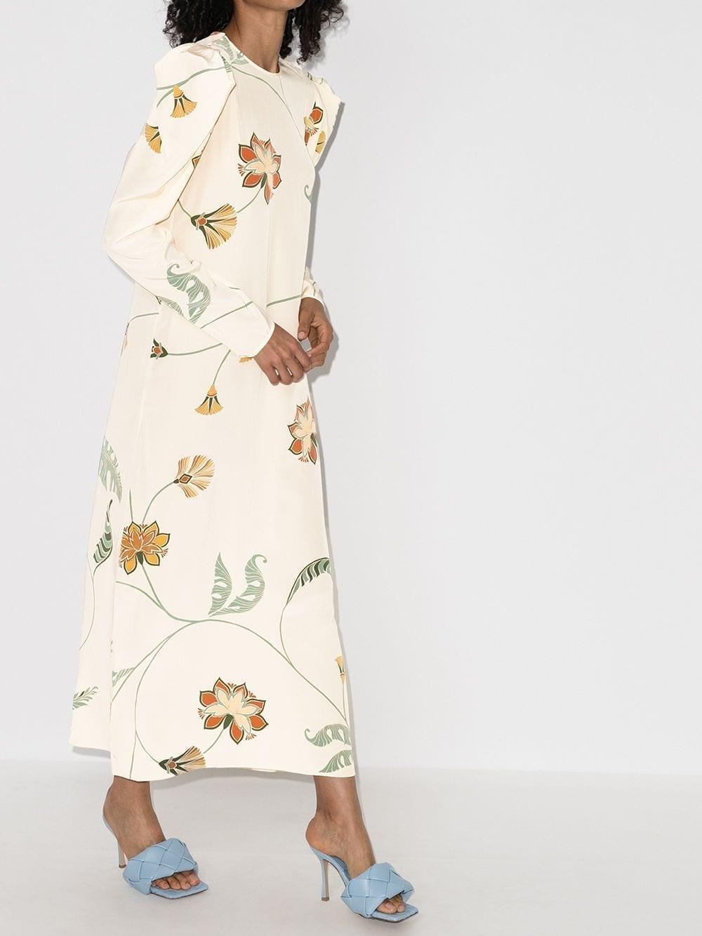 JOHANNA ORTIZ Floral-print Maxi Dress
