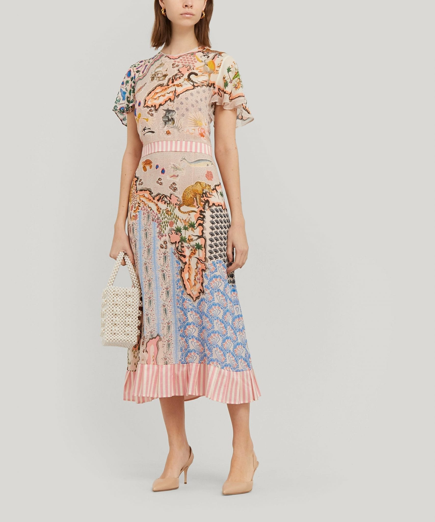 LIBERTY Sedona Georgette Midi Dress