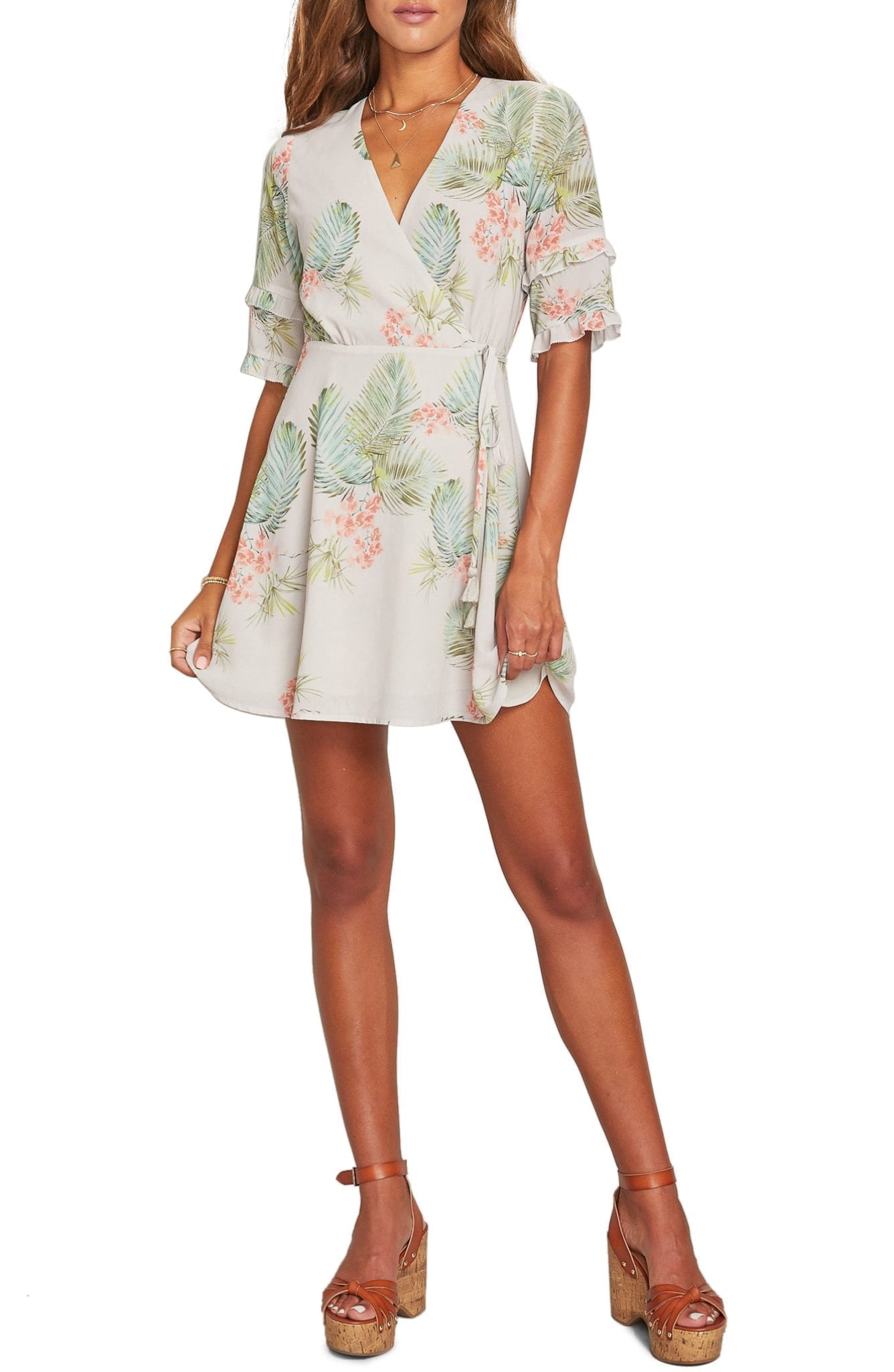 LOST + WANDER Lost In Paradise Mini Dress