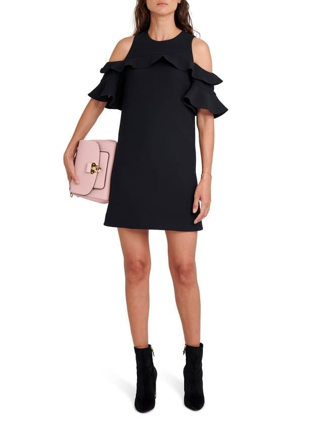 LOUIS VUITTON Ruffle Dress