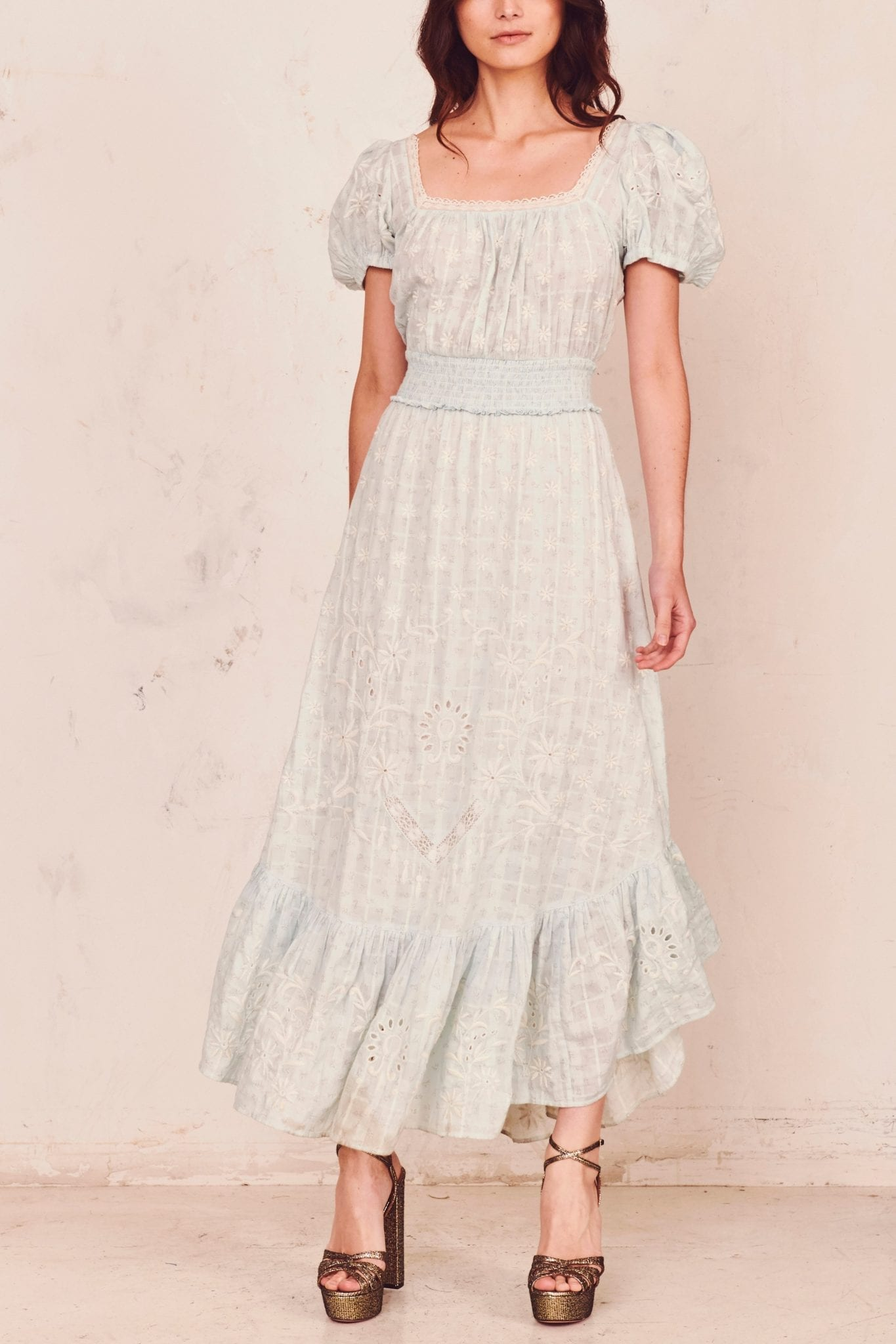 LOVESHACKFANCY Begonia Dress