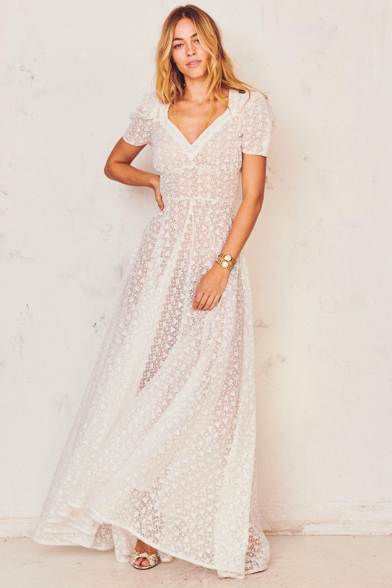 LOVESHACKFANCY Castella Dress