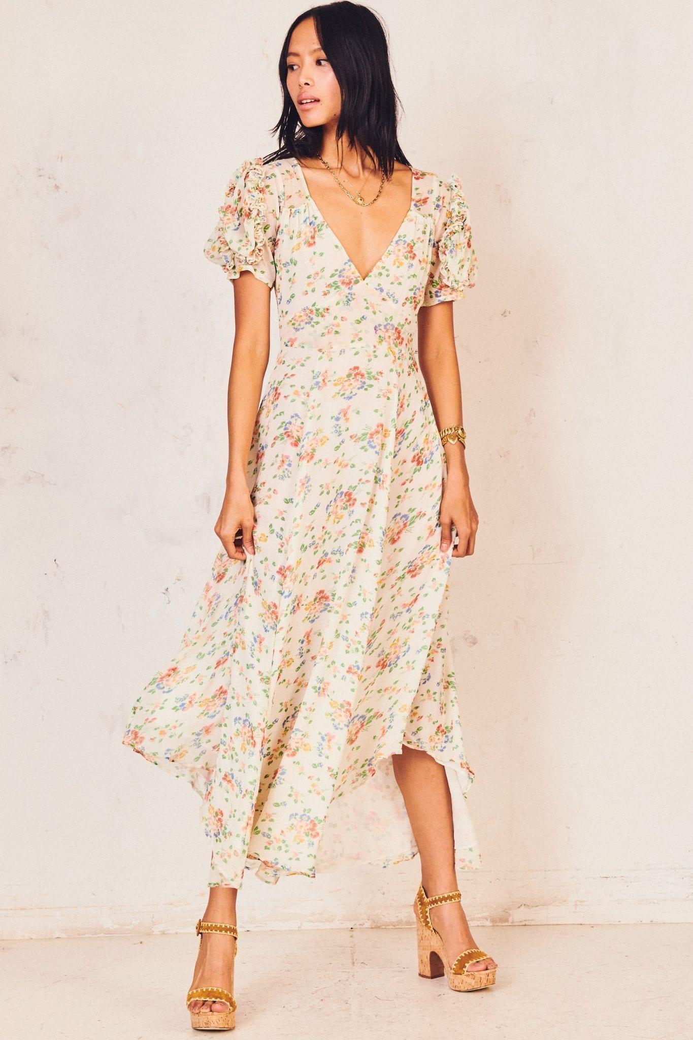LOVESHACKFANCY Clemence Dress