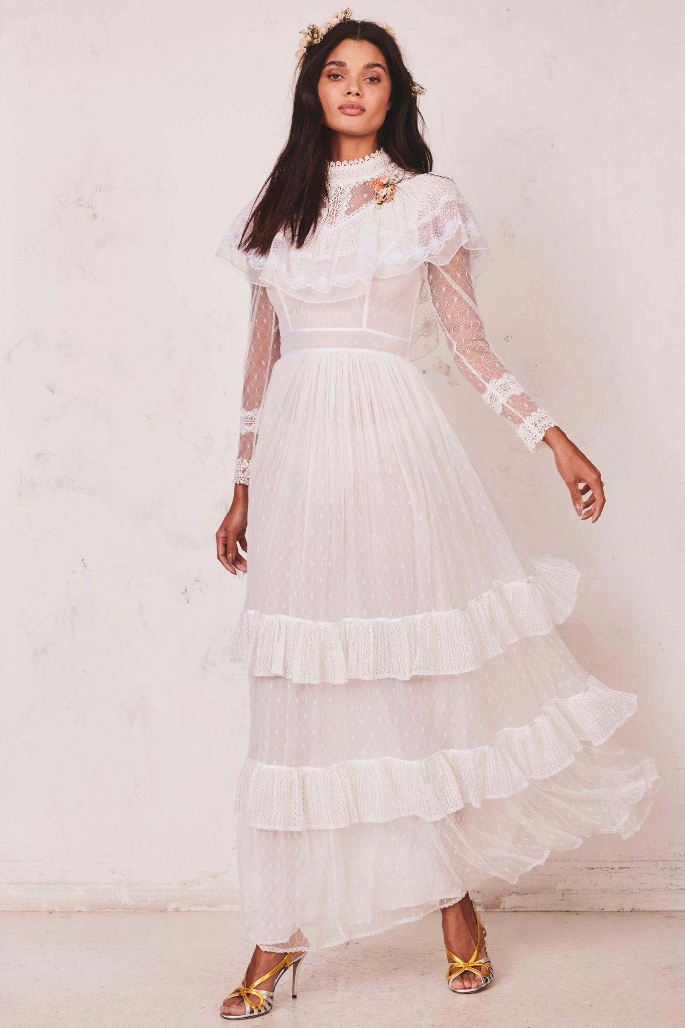 LOVESHACKFANCY Cornelia Dress