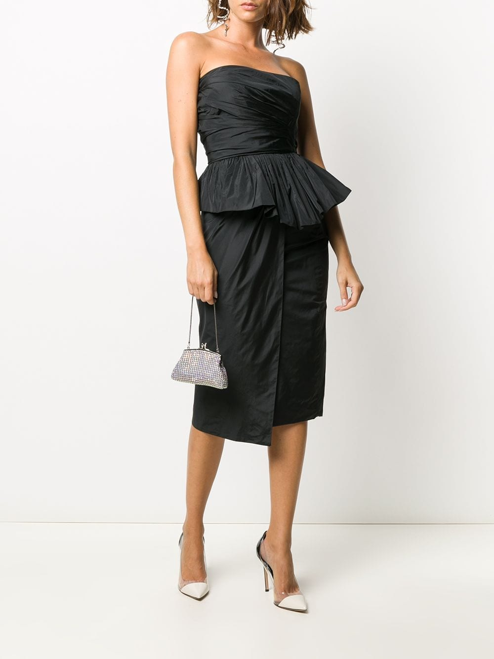 MAX MARA PIANOFORTE Elegnate Matteo Strapless Dress