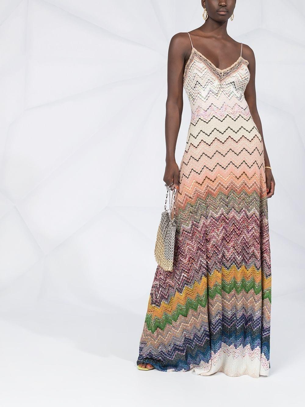 MISSONI Zig-zag Knit Dress