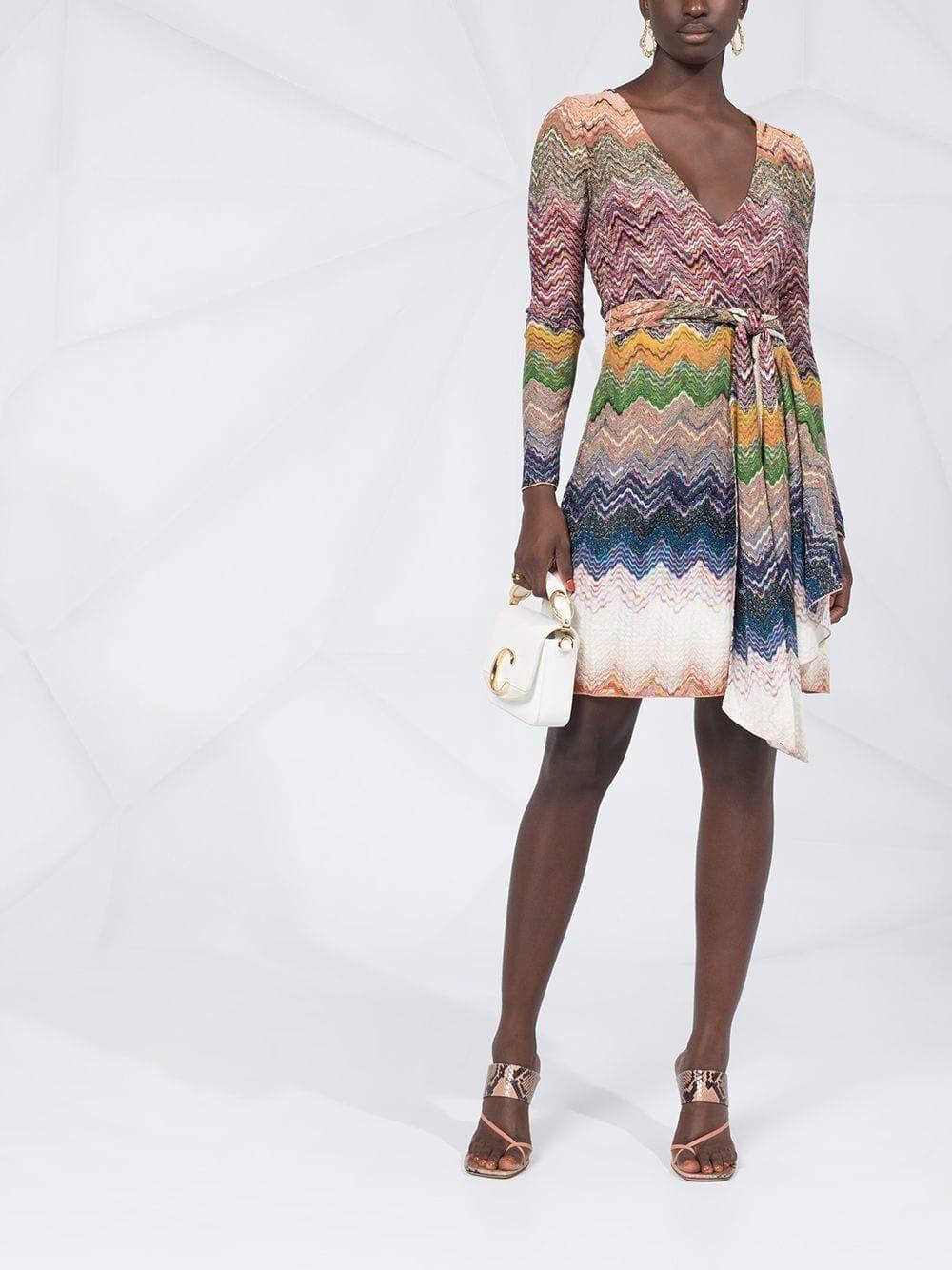 MISSONI Zig-zag Print Dress