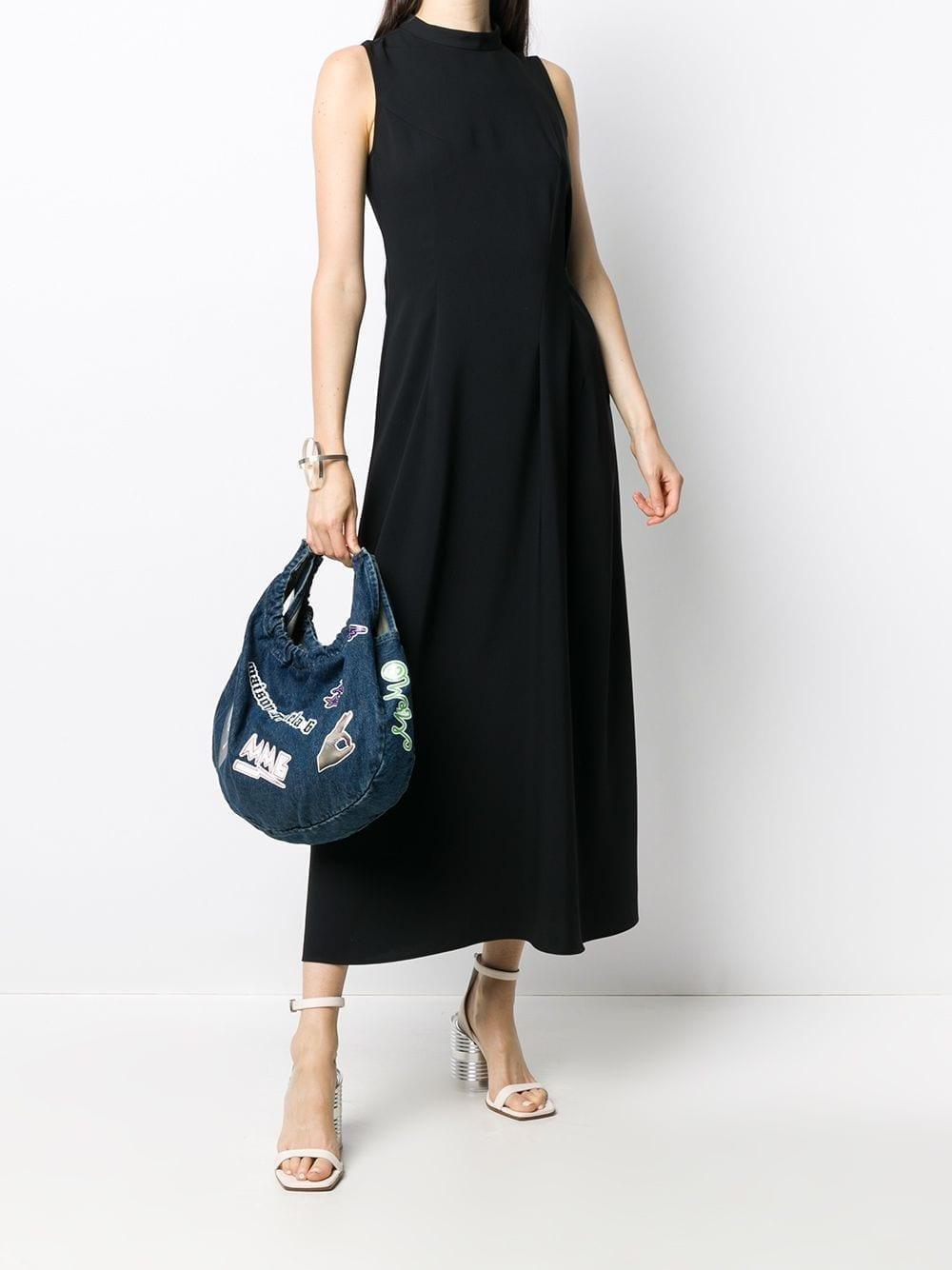 MM6 MAISON MARGIELA Sleeveless Pleated Details Dress