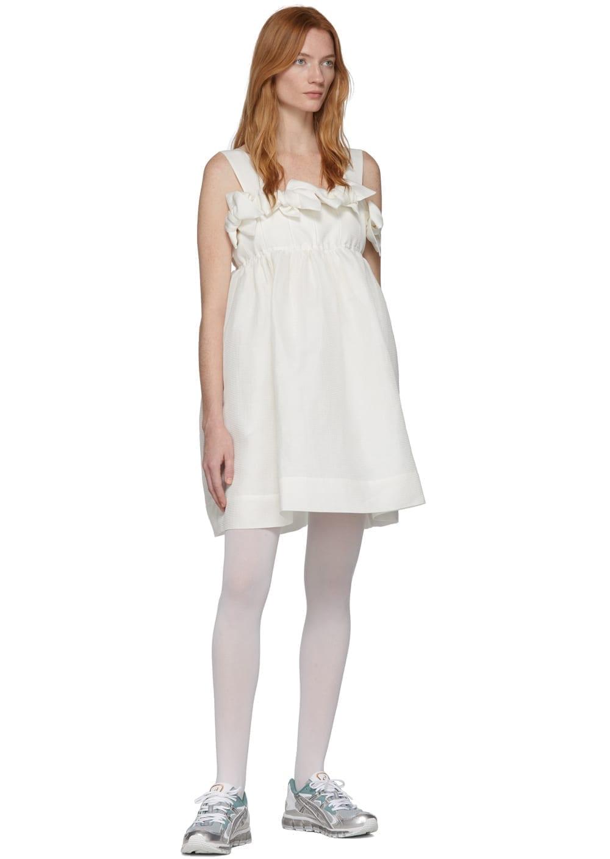 MM6 MAISON MARGIELA White Back Panel Slip Dress