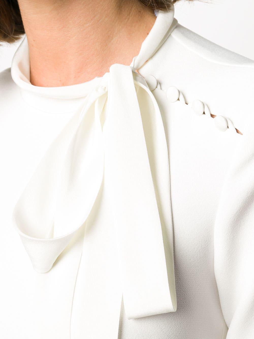 REDVALENTINO Tie-neck Dress