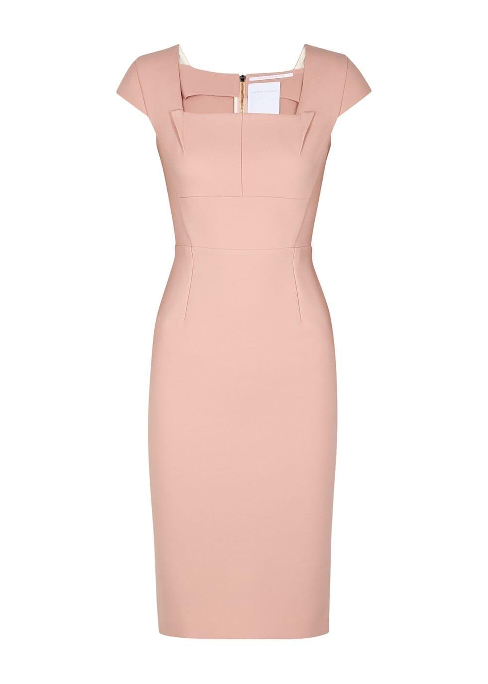 ROLAND MOURET Jeddler Pink Dress