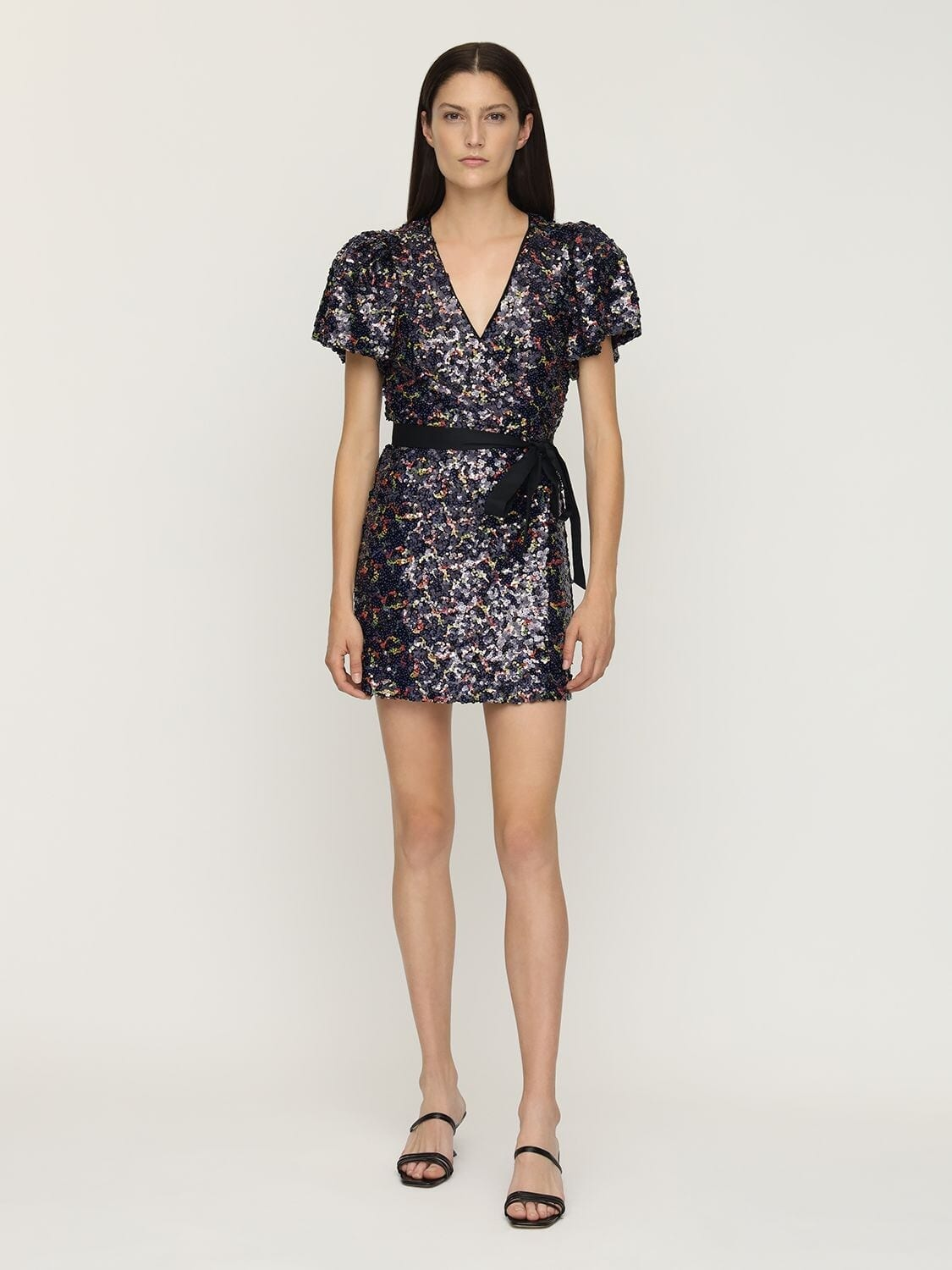 ROTATE Frida Sequins Mini Dress