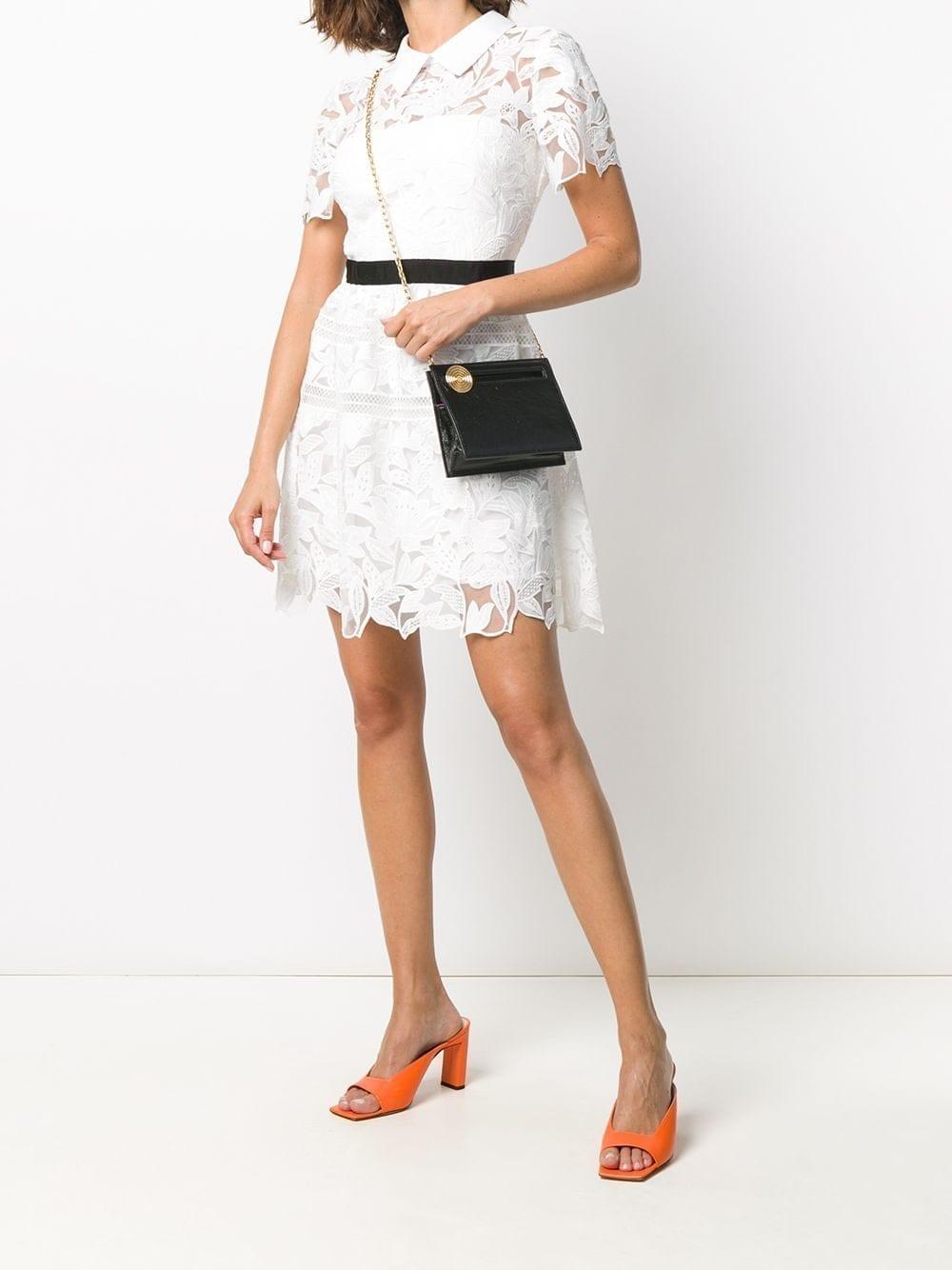 SELF-PORTRAIT Short Guipure Dress