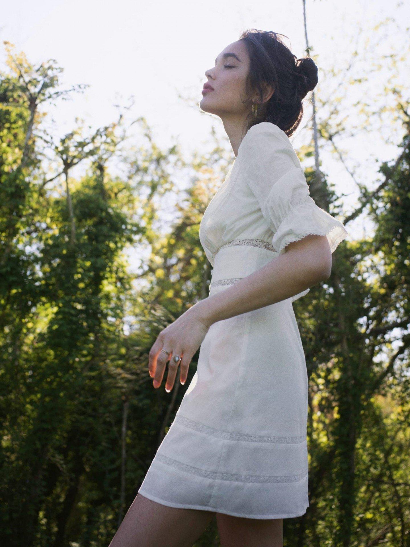 THE REFORMATION Cassatt Dress