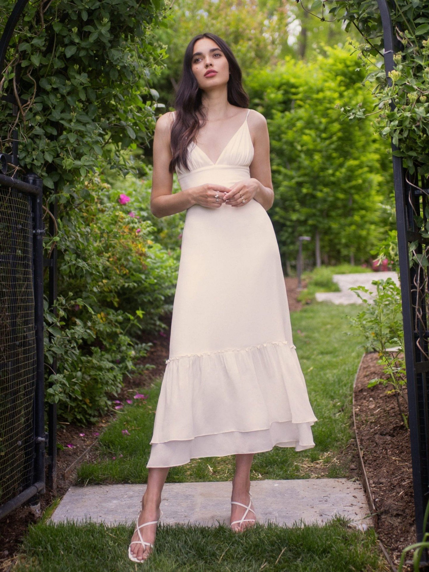 THE REFORMATION Chalet Dress