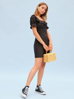 THEREFORMATION Frappe Dress