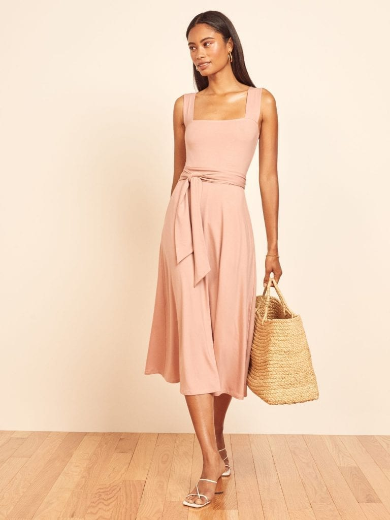 THEREFORMATION Helina Dress
