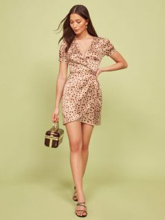 THEREFORMATION Honey Dress